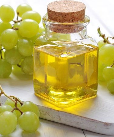 grapeseed oil and grapes