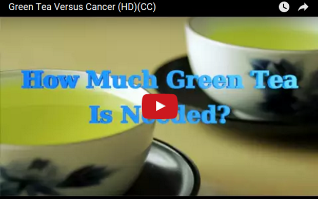 Green Tea Versus Cancer (video)