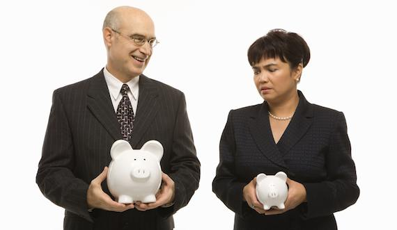 are you thinking yourself sick - comparing piggy banks