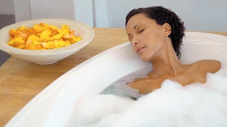Aromatherapy for PMS_aromatherapy bath
