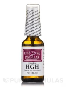 homeopathic HGH spray