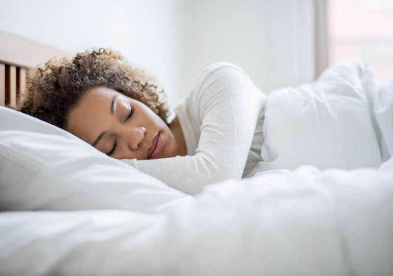 Get Better Sleep by Eating and Drinking These Delicious Treats_woman-sleeping