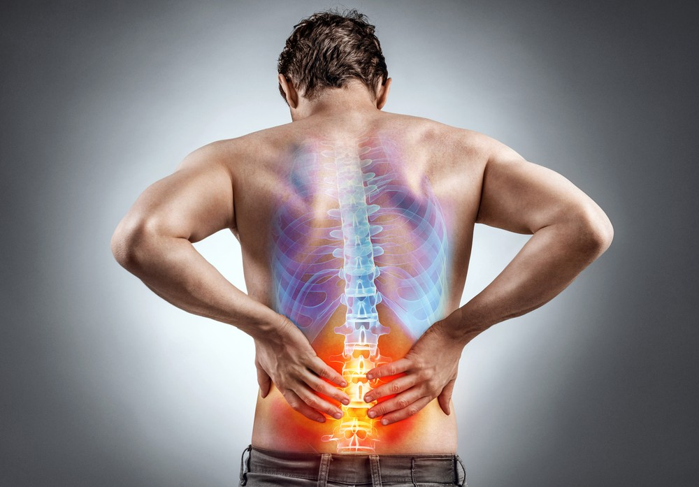 Getting the Facts Straight About Posture_back pain man spine visible