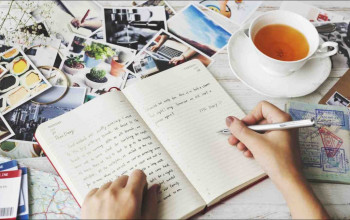 How Journaling Can Benefit You and Your Relationship_journaling and tea